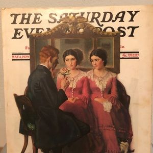 Vintage Cover of THE SATURDAY EVENING POST